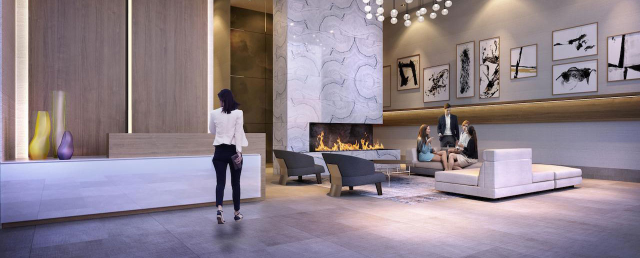 Two Floors of Amenities Offered at The Davis in Newmarket