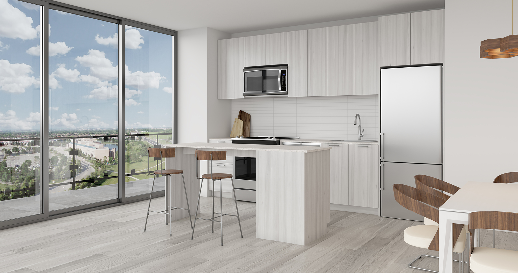 Register online to attend the grand opening of The Davis Residences at Bakerfield this September in Newmarket
