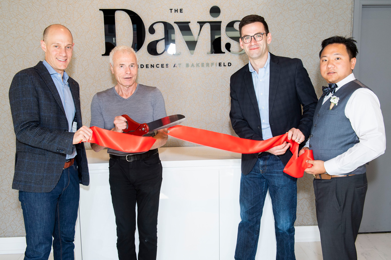 The Rose Corporation celebrates the grand opening of The Davis Residences in Newmarket